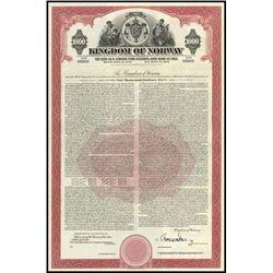 Kingdom of Norway Bond Assortment