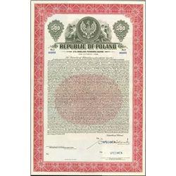 Poland. Republic of Poland - Dollar Funding Bond