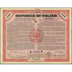Republic of Poland - Temporary U.S. Dollar Gold B