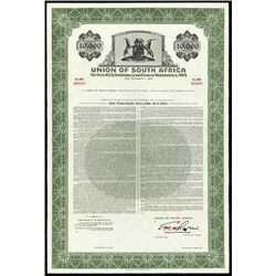 South Africa. Union of South Africa Bond Assortme