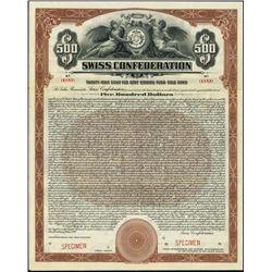 Switzerland. Swiss Confederation Bond