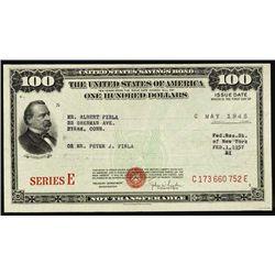 U.S. United States Savings Bond Assortment.