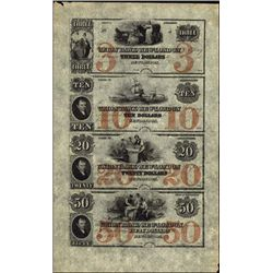 CT. The Union Bank in New -London Obsolete Sheet.