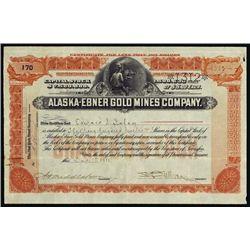 Alaska. Alaska-Ebner Gold Mines Co.