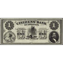 Louisiana. New Orleans Obsolete Banknote Assortme