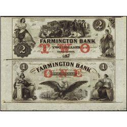 New Hampshire. The Farmington Bank Obsolete Sheet