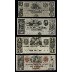 Obsolete Banknote Assortment.