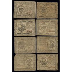 PA. Colonial - Continental Banknote Assortment.