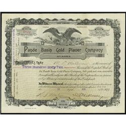 Alaska. Pande Basin Gold Placer Company, Alaska.