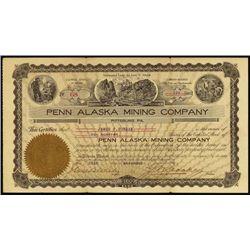 Alaska. Penn Alaska Mining Co.