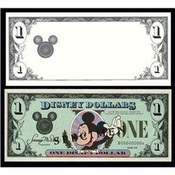 U.S. Disney Dollar Large Die Proof and Specimen (