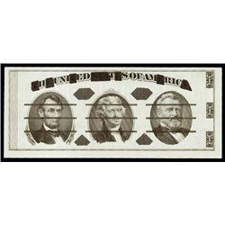 U.S. Giori Test Banknote.