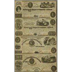 U.S. Obsolete Banknote Remainder or Issued Sheets