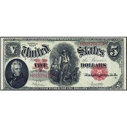 U.S. $5 United States Note Series 1907.