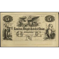 RWHE - Engravers Ad. Banknote