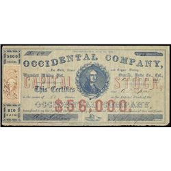 CA. Occidental Co., For Gold, Silver & Copper Min