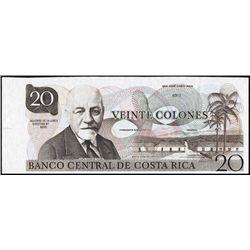 Costa Rica. Banco Central De Costa Rica Tyvek Not
