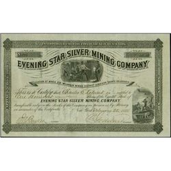 Colorado. Evening Star Silver Mining Company.