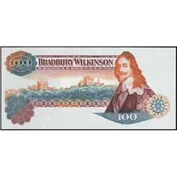 England. Bradbury Wilkinson Tyvek Note 100 Denom