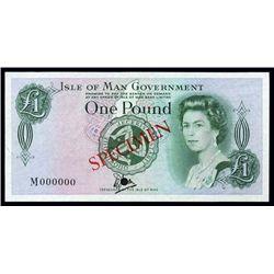 Isle of Man Government Tyvek (Bradvek) Note.