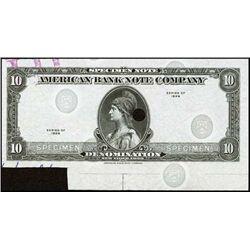 U.S. American Bank Note Co. Tyvek Specimen Note