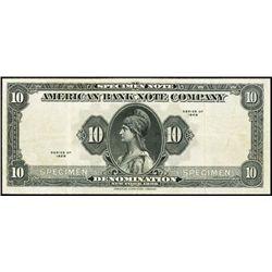U.S. New York. American BNCo. Tyvek Specimen Note