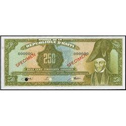 Haiti. Banque De La Republique D'Haiti Tyvek Bank