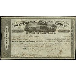 Maryland. Swanton Coal and Iron Co.