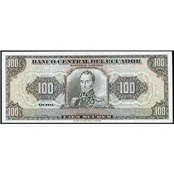 Ecuador. Banco Central Del Ecuador Tyvek Note.
