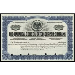Mexico. Cananea Consolidated Copper Co.