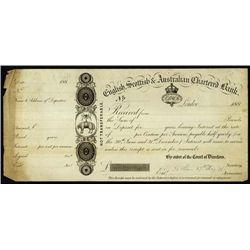 Australia. English, Scott. & Aust. Chart. Bank CD
