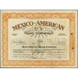 Mexico. Mexico-American Mining Company.
