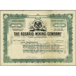 Mexico. The Rosario Mining Company.
