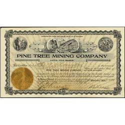Michigan. Pine Tree Mining Company.