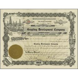 Michigan. The Grayling Development Company.
