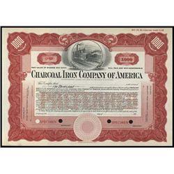 MI. U.S. Charcoal Iron Co. of America Stock Spec.