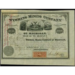 Michigan. Wyoming Mining Company of Michigan