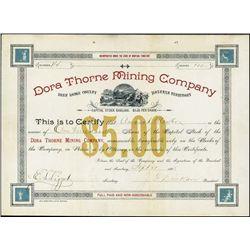 Montana Territory.  Dora Thorne Mining Company
