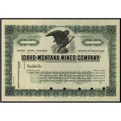 Montana. Idaho. Idaho-Montana Mines Company