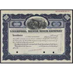 Montana. Liverpool Silver Mines Company