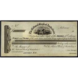 Australia. Nat.l Bank of Australasia Bill of Exch