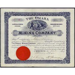 Montana. The Omaha Mining Company.