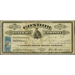 Nevada. Condor Silver Mining Company.