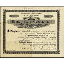 Nevada. Bullfrog Mines Syndicate, Inc.