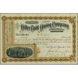 Nevada. Miller Gold Mining Company.