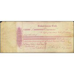 British Guiana Bank Proof Exchanges & CD's.