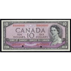 """Bank of Canada 1954 """"Devil's Face Hairdo"""" Issue."""