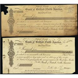 Canada. Bank of British North Am. Proof Check & C