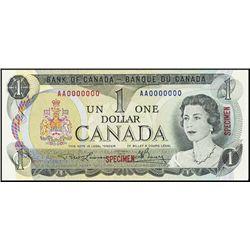 Canada. Bank of Canada Specimen Banknotes (2).