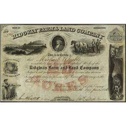 Pennsylvania. Ridgeway Farm & Land Company.